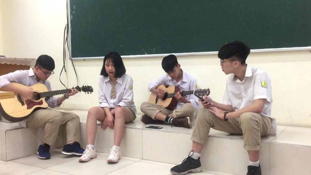 Anh Đã Quen Với Cô Đơn -Nhóm học sinh trường THPT CLC Phan Huy Chú- Đống Đa