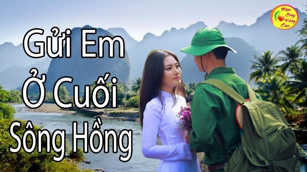 Lời bài hát Gửi Em Ở Cuối Sông Hồng [Anh Thơ x Việt Hoàn] [Lyrics Kèm Hợp Âm]