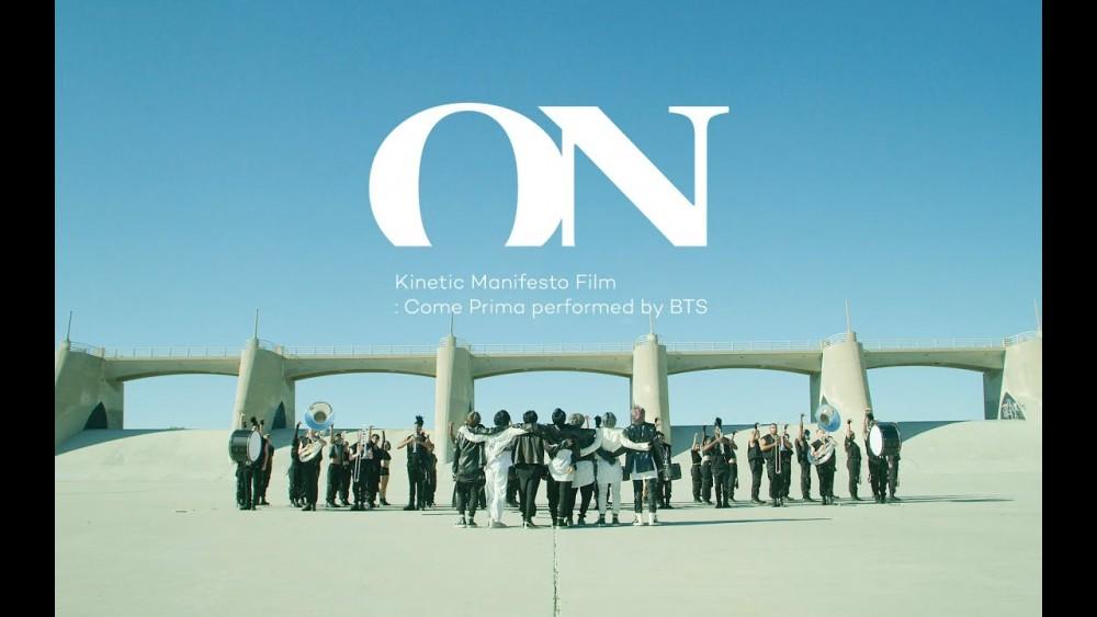 Lời bài hát ON' Kinetic Manifesto Film : Come Prima [BTS] [Lyrics Kèm Hợp Âm]