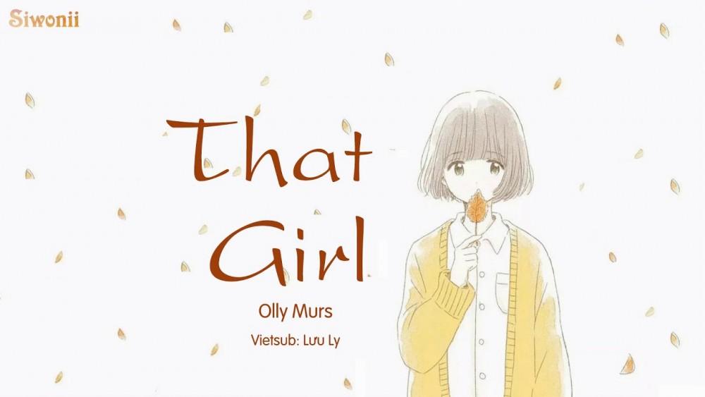 Lời bài hát That Girl [Olly Murs] [Lyrics Kèm Hợp Âm]