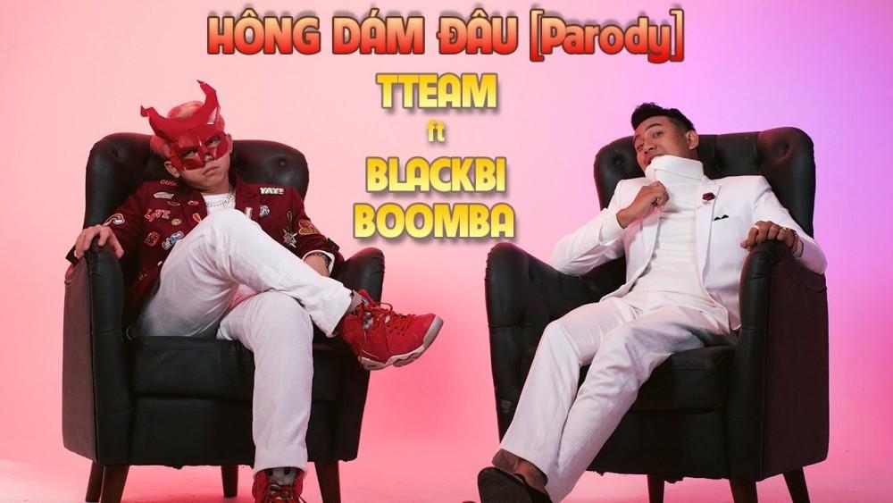 Lời bài hát Hông Dám Đâu [TTeam x BlackBi x Boomba] [Lyrics Kèm Hợp Âm]