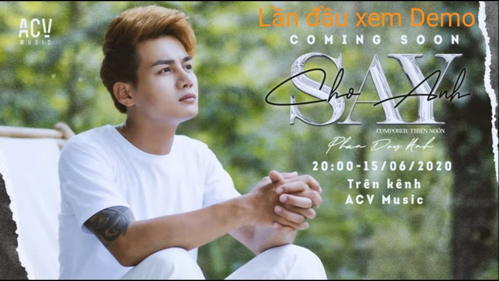 Lời bài hát Cho Anh Say [Phan Duy Anh] [Lyrics Kèm Hợp Âm]