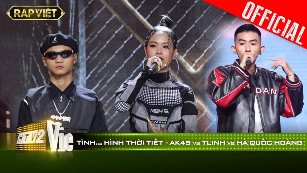 Lời bài hát Tình Hình Thời Tiết (Rap Việt) - TLINH x AK49 x HÀ QUỐC HOÀNG