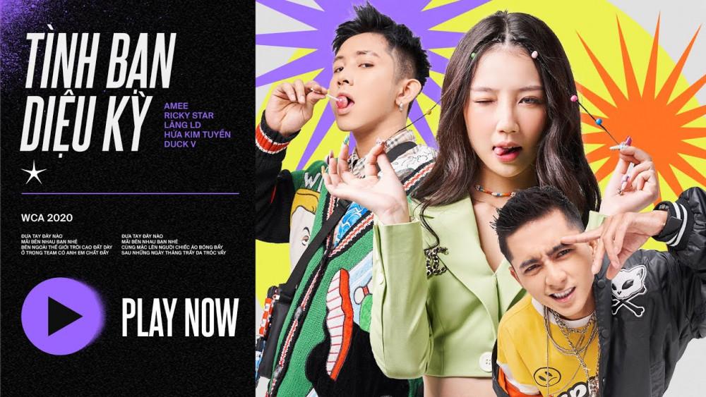 TÌNH BẠN DIỆU KỲ - Amee x Ricky Star x Lăng LD - YouTube