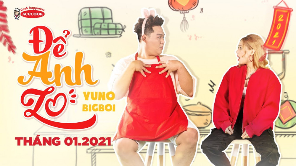 Yuno BigBoi x Xoài Non x Acecook - Để Anh Lo | Official Music Video -  YouTube