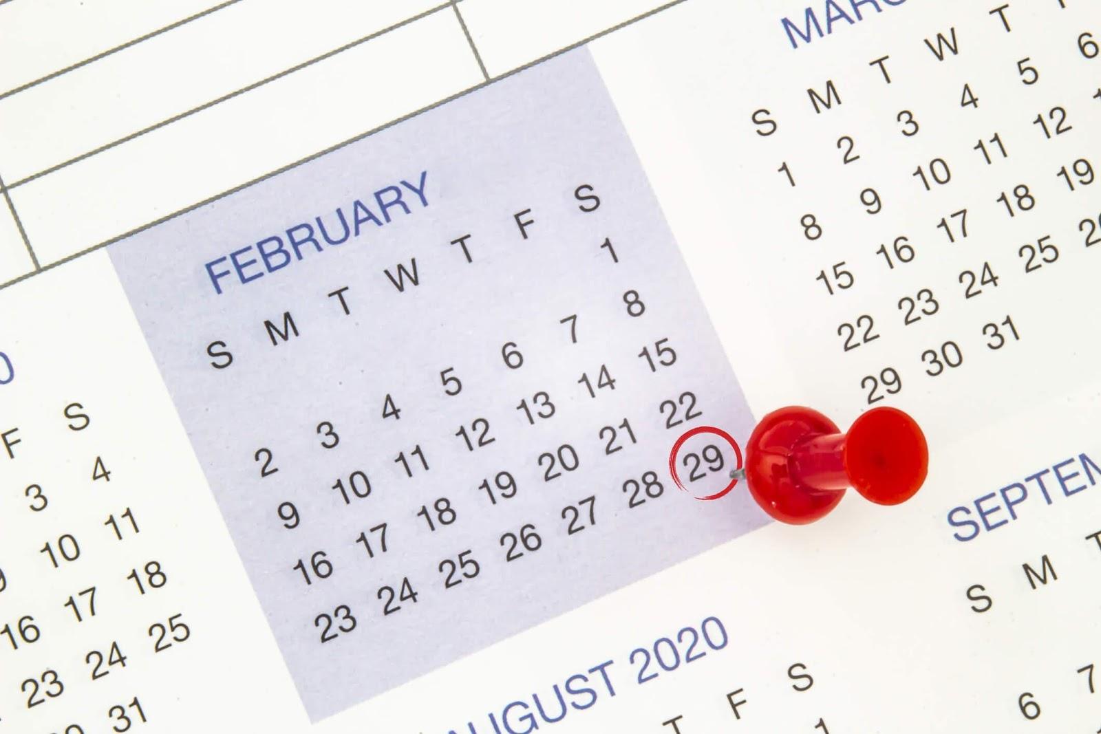 Trong 19 năm Dương lịch, có đến 228 tháng tính theo Dương lịch