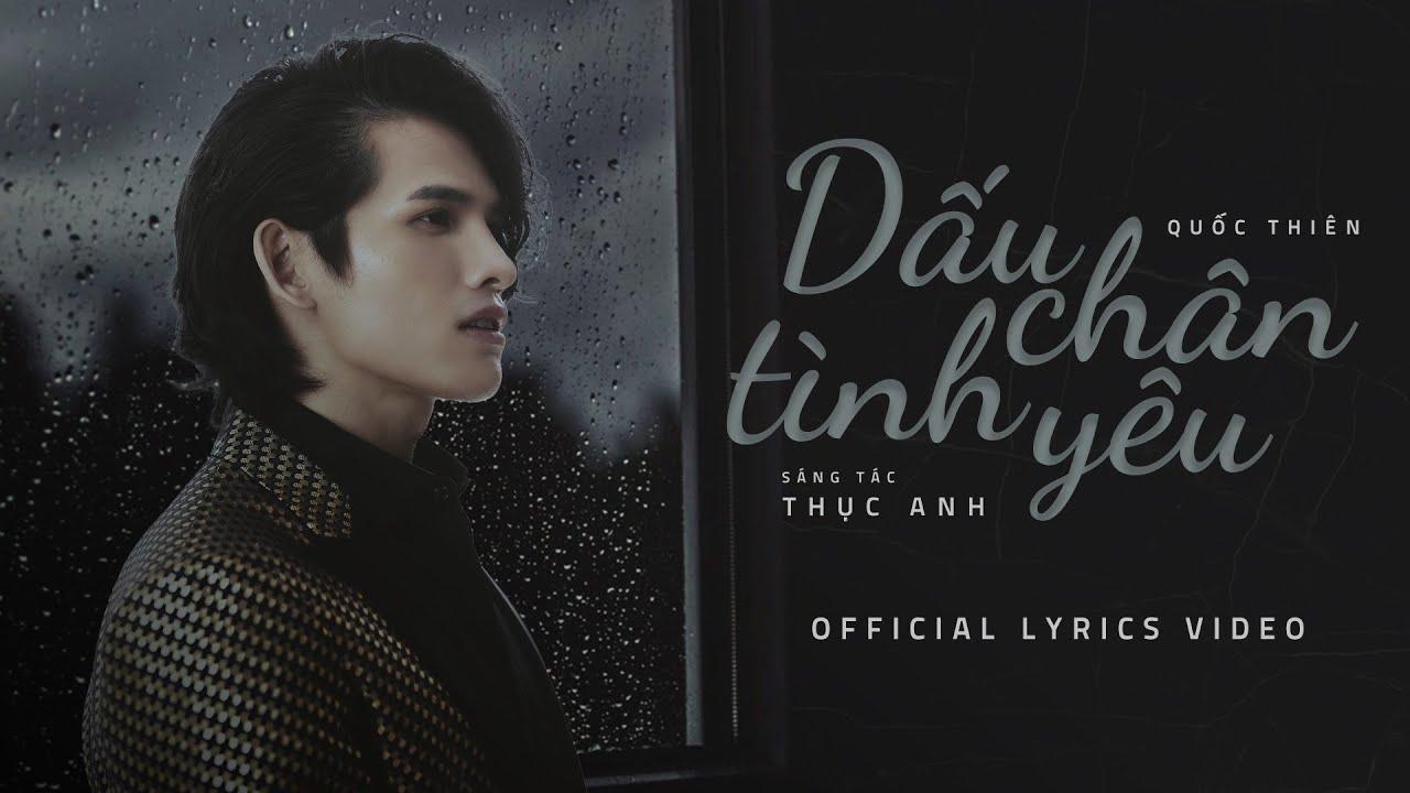 Dấu Chân Tình Yêu - Quốc Thiên | Official Lyric Video - YouTube