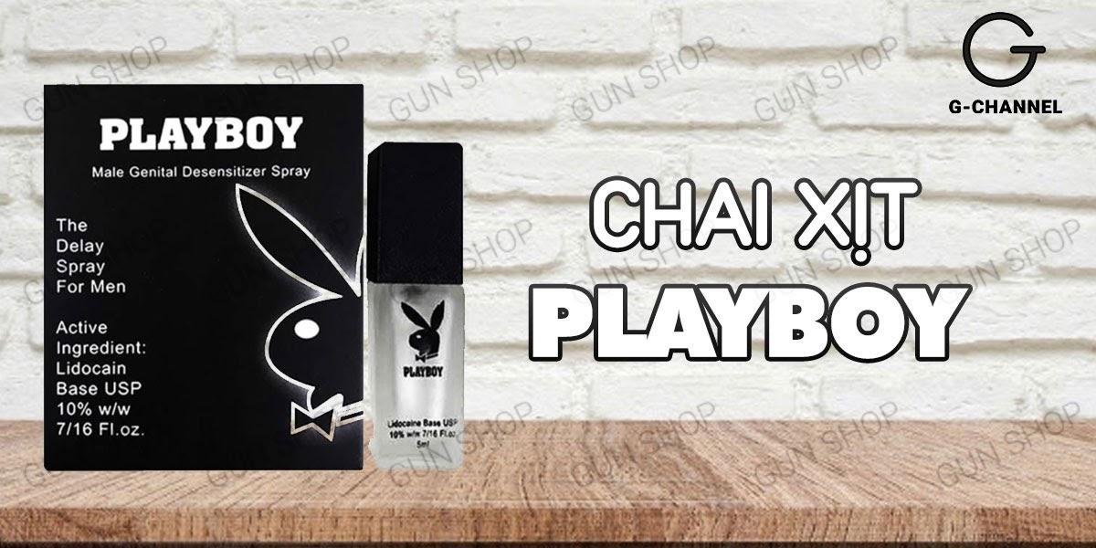 Chai xịt Playboy chống xuất tinh sớm duy trì phong độ cho nam giới